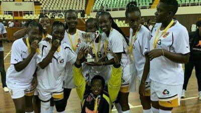 Kenias Frauenteam begeistert über den Sieg