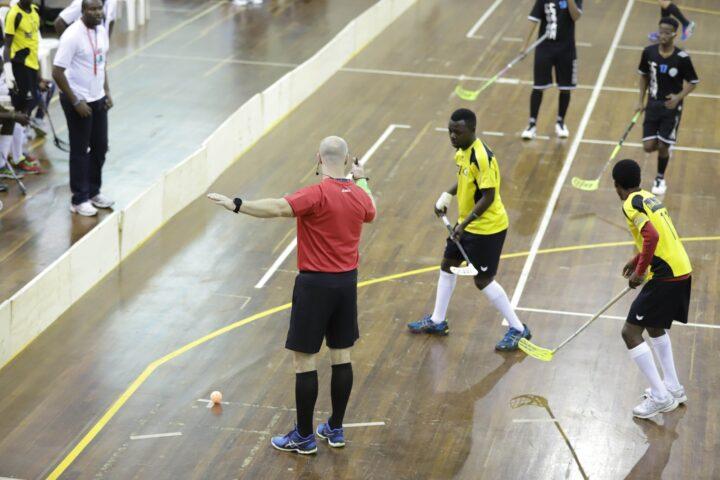 Voller Einsatz - auch vom Schiedsrichter