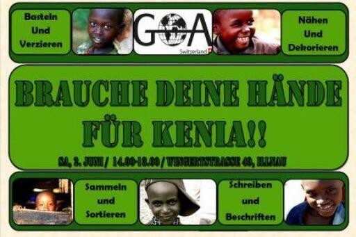 Brauche deine Hände für Kenia2012