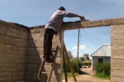 ... aber dank der Spenden konnte der Wiederaufbau in Gang gesetzt werden..