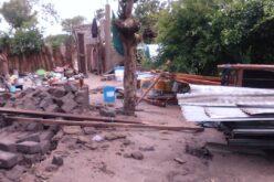 Das GOA-Büro in Tansania wurde von den Hochwassern zerstört...