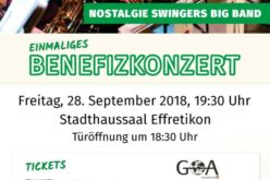 Flyer benefizkonzert 2018