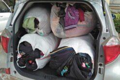 Kleider wurden von Kenia in den Südsudan gesendet.