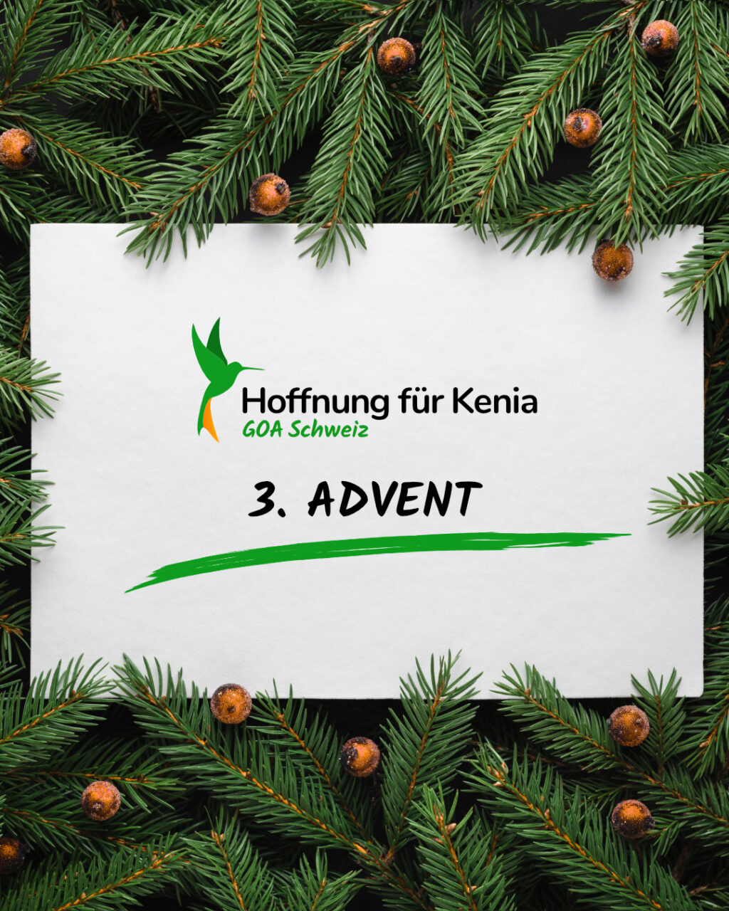 POSTS SONNTAG ADVENTSKALENDER 3