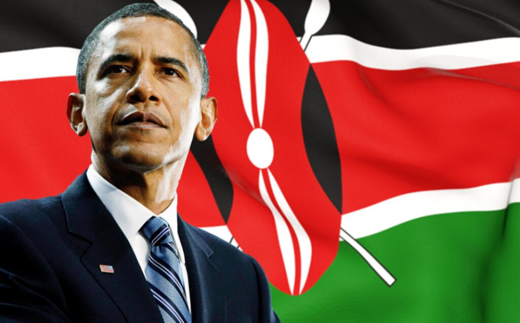 Barack Obama Kenyan Flag 1000x620